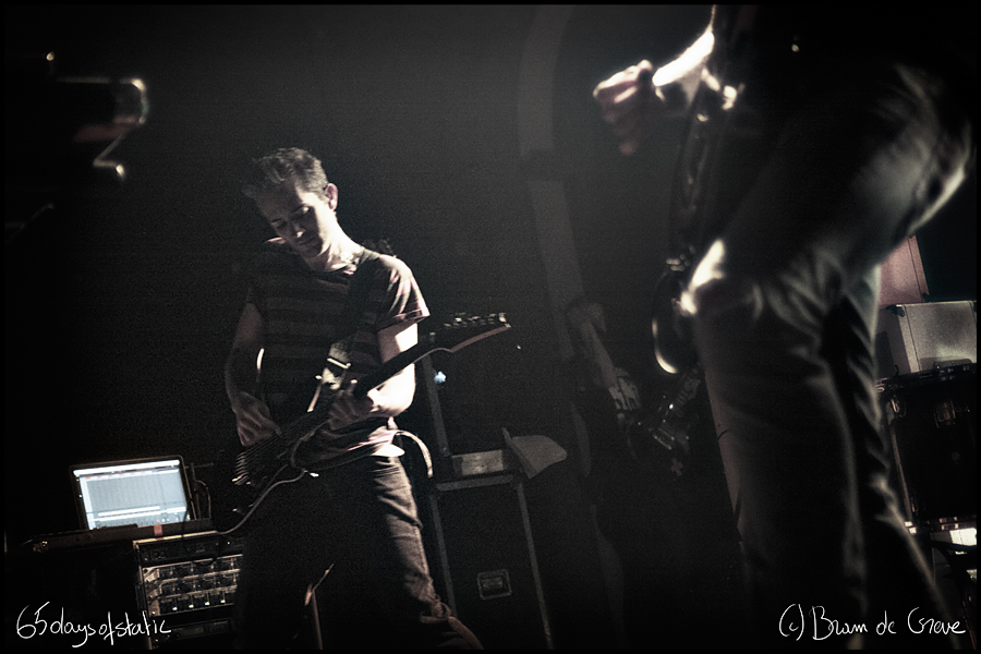 65daysofstatic @ Handelsbeurs, 27 September 2013
